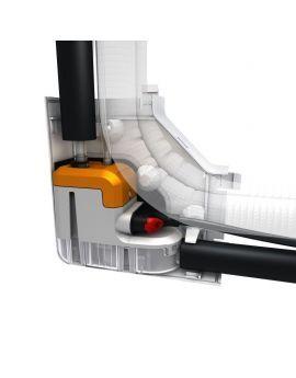 Sauermann Delta Pack 80 X 60 In Trunking Mini Pump WHITE