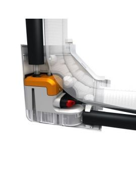 Sauermann Delta Pack 80 X 60 In Trunking Mini Pump OFF WHITE