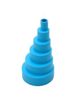 BlueDiamond Flexible Stepped Adaptor - Blue